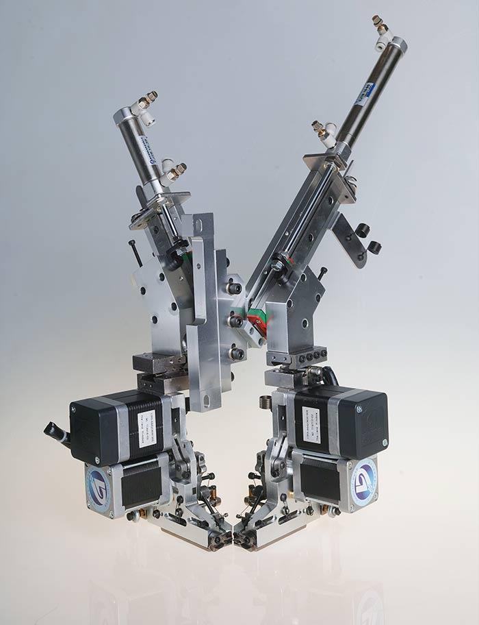 4JP403四金片绣(电机切片)装置